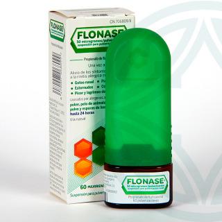 Flonase Spray Nasal 50 microgramos/pulverización 60 pulverizaciones