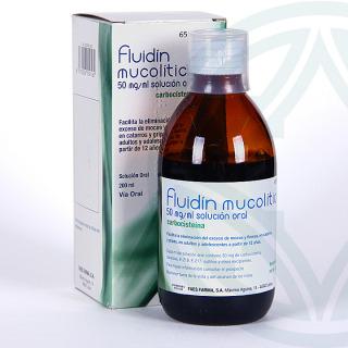 Fluidin Mucolítico solución oral 200 ml