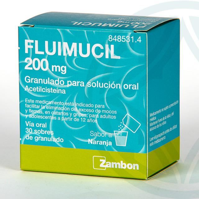 Fluimucil 200 granulado 30 sobres