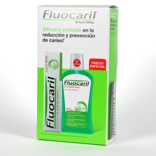 Fluocaril Pasta Dentífrica 125 ml + Colutorio 500 ml Pack Promo