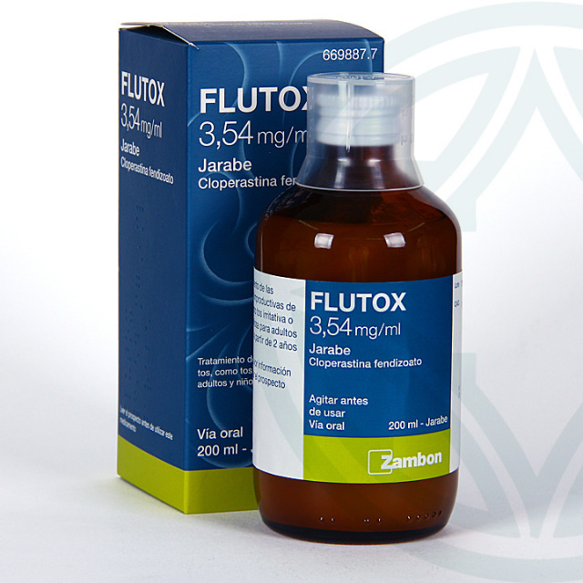 Flutox jarabe 3,54 mg/ ml 200 ml