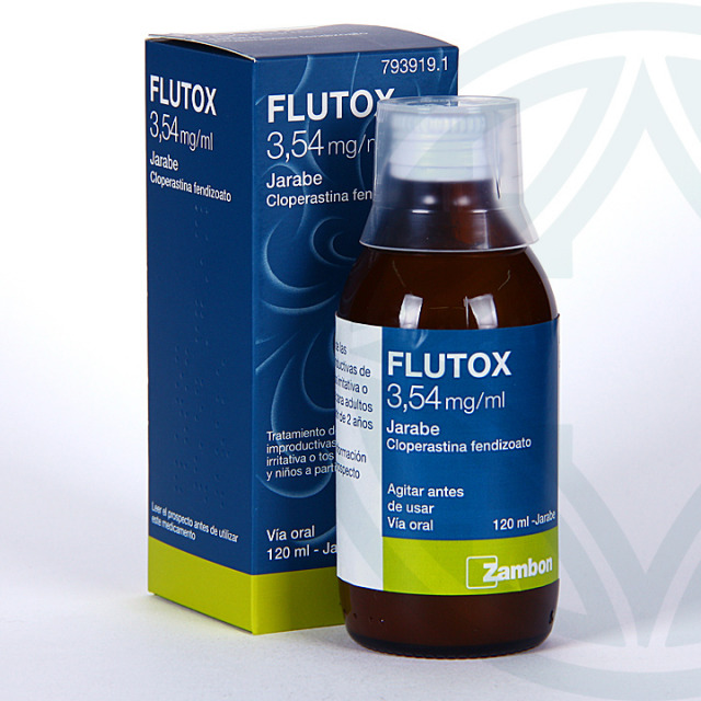 Flutox jarabe 3,54 mg/ml 120 ml
