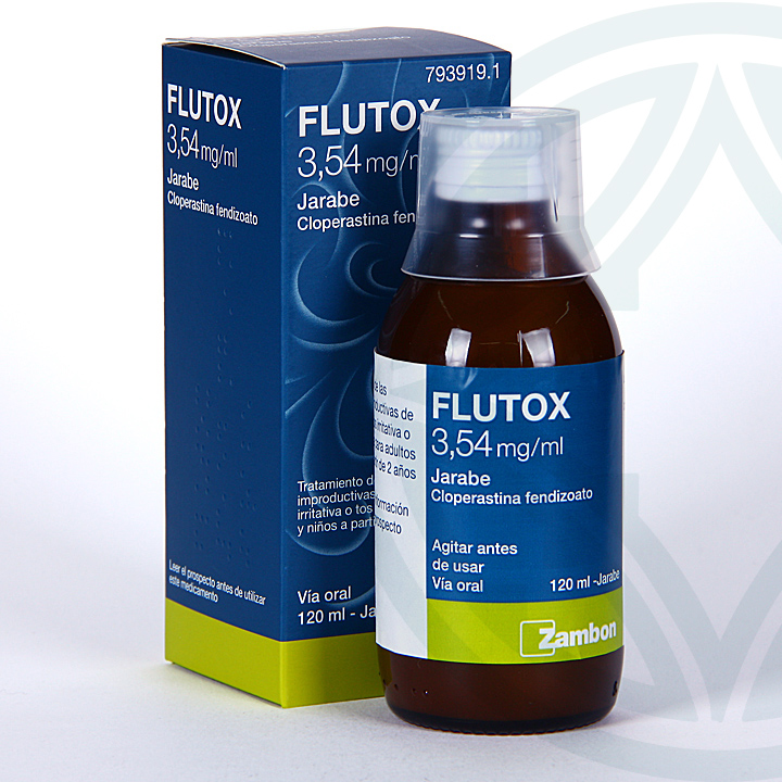 Flutox jarabe 3,54 mg/ml 120 ml