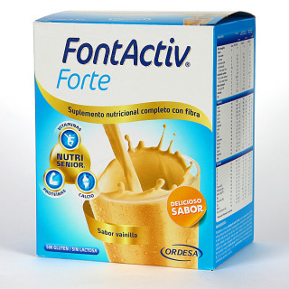 Fontactiv Forte sabor vainilla 14 sobres