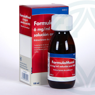 FormulaMucol 6mg/ml solución oral 100 ml