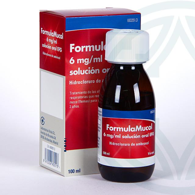 FormulaMucol 6mg/ml solución oral 100 ml