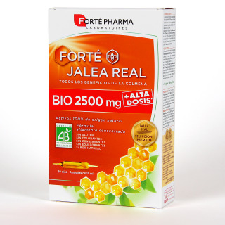 Forte Jalea Real BIO 2500 mg 20 ampollas