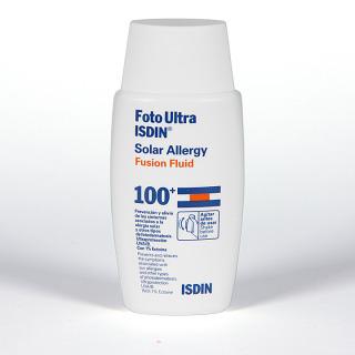 FotoUltra Isdin Solar Allergy Fusion fluid SPF100+ 50ml