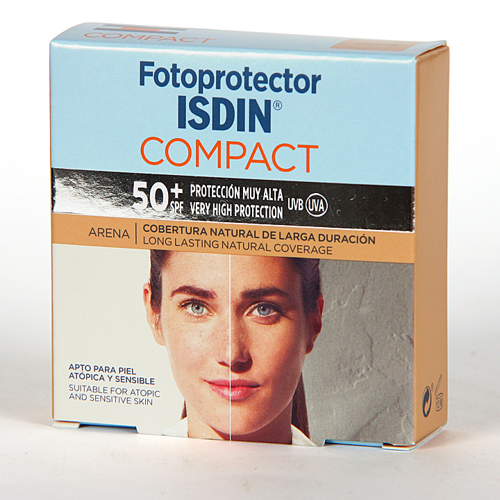 Fotoprotector Isdin 50+ Compact Arena