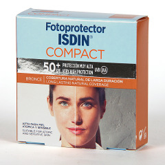 Fotoprotector Isdin 50+ Compact Bronce