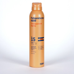 Fotoprotector Isdin Transparente Spray SPF15 200 ml
