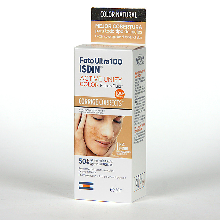 FotoUltra 100 Isdin Active Unify Fusion fluid color 50 ml