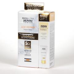 FotoUltra Isdin Age Repair Fusion Water SPF50 50 ml PACK Minitalla k-Ox contorno