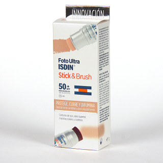 FotoUltra Isdin Stick & Brush SPF 50+ 9g