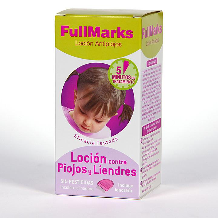 FullMarks Solución Pediculicida contra piojos y liendres 100ml+liendrera