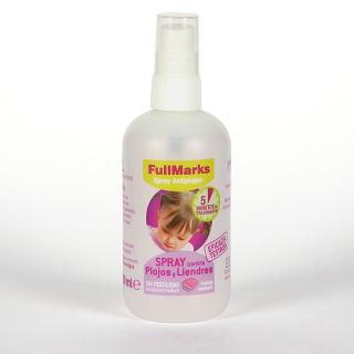FullMarks Spray Pediculicida contra piojos y liendres 150ml+liendrera