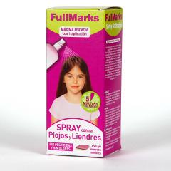 FullMarks Spray Pediculicida contra piojos y liendres 150ml + liendrera