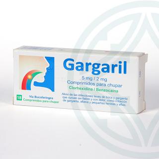 Gargaril 18 comprimidos para chupar