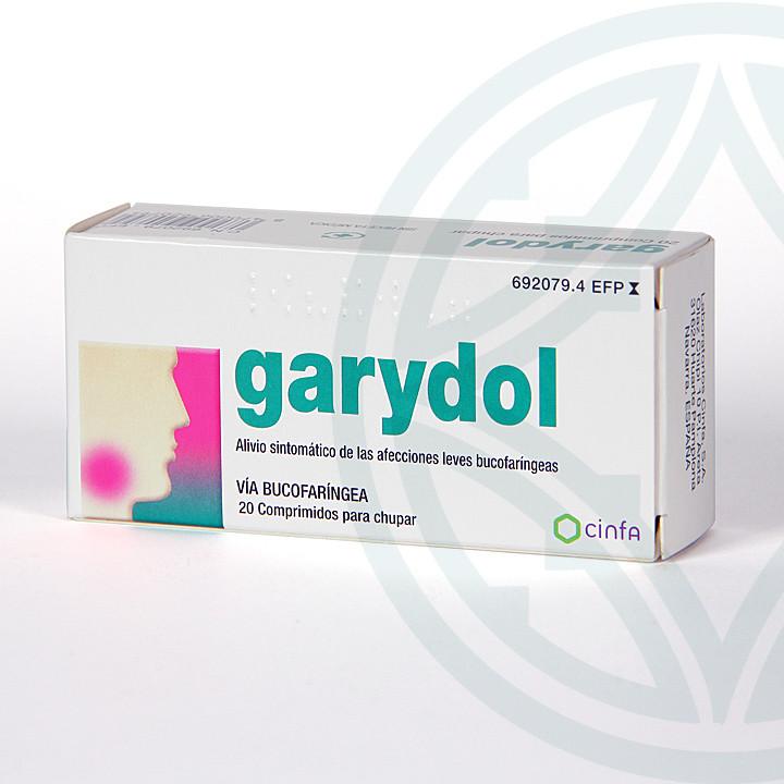 Garydol 20 comprimidos para chupar
