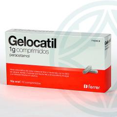 Gelocatil 1 g 10 comprimidos