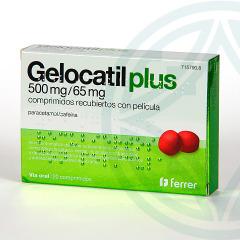 Gelocatil Plus 20 comprimidos