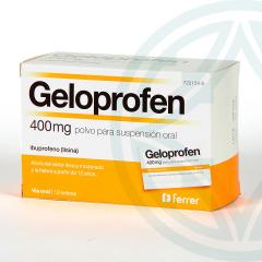 Geloprofen 400 mg 12 sobres