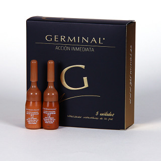 Germinal Acción inmediata 5 ampollas 1.5ml + regalo 2 ampollas Germinal efecto maquillaje