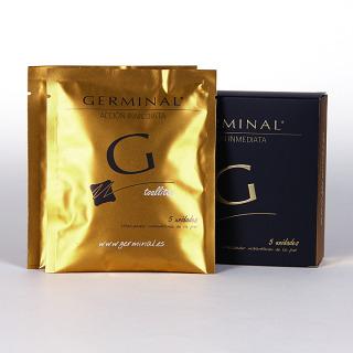 Germinal Acción inmediata 5 ampollas 1.5ml + regalo 2 toallitas vitalizador instantáneo
