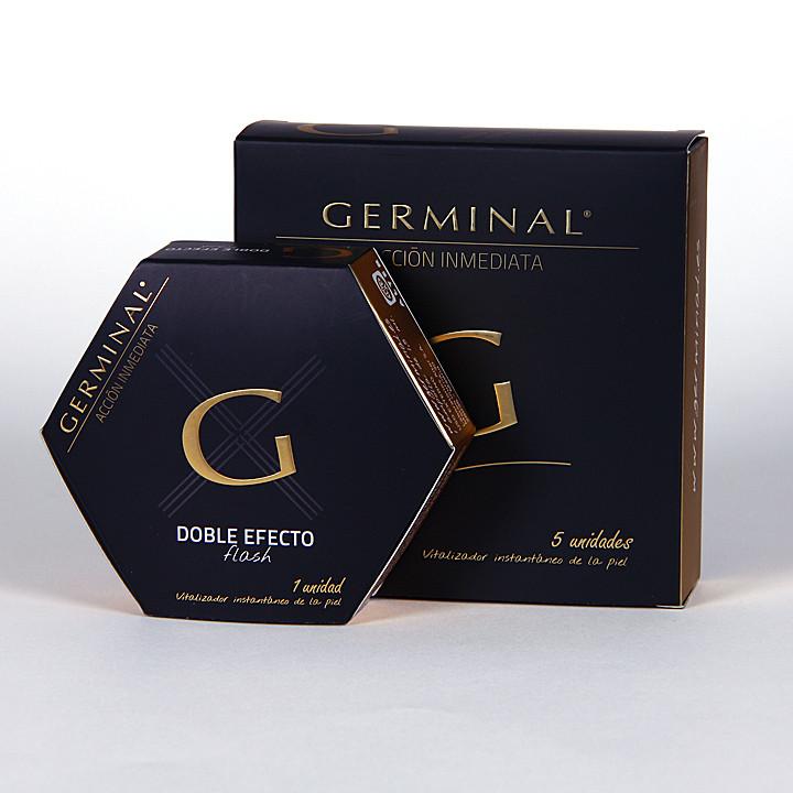 Germinal Acción inmediata 5 ampollas accion inmediata 1.5ml + regalo 1 ampolla efecto flash