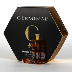 Germinal Acción inmediata 5 ampollas Doble Efecto Flash 1.5ml