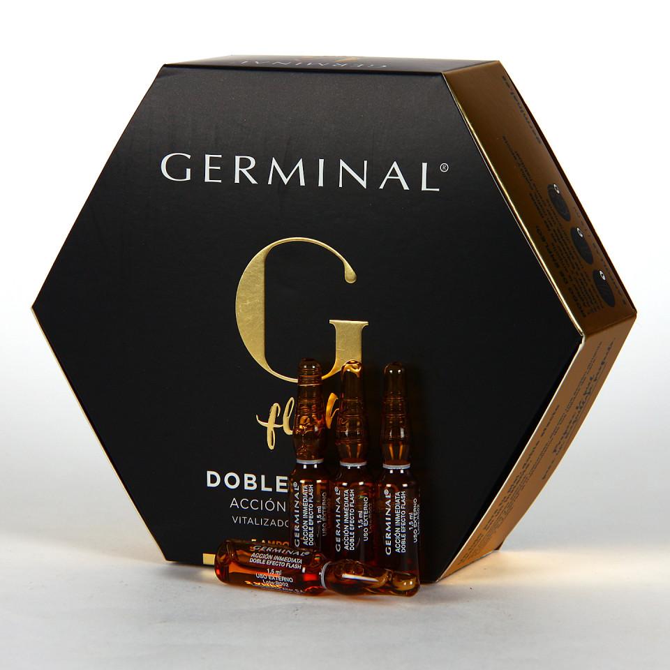Germinal Acción inmediata 5 ampollas Doble Efecto Flash 1.5ml