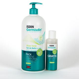Germisdin Higiene corporal Piel Seca Aloe Vera 1000 ml + Gel Hidroalcohólico 100 ml regalo