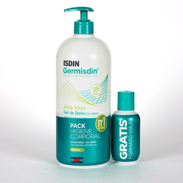 Germisdin Higiene corporal Piel Seca Aloe Vera 1000 + 100 ml Pack