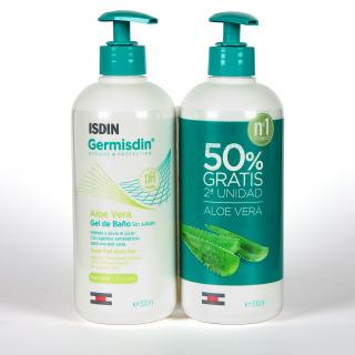 Germisdin Higiene Corporal Piel Seca Aloe Vera 500 ml Pack Duplo