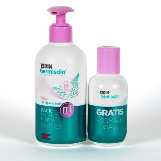 Germisdin Higiene íntima femenina 250 ml + 100 ml Pack viaje