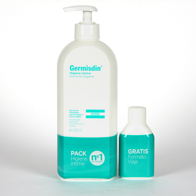 Germisdin Higiene Intima femenina 500 ml Pack Viaje