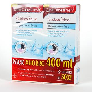 Ginecanesfresh Higiene Íntima Diaria pack Duplo