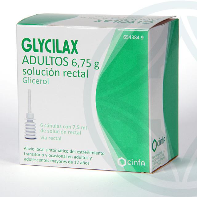 Glycilax Adultos solución rectal 6 enemas