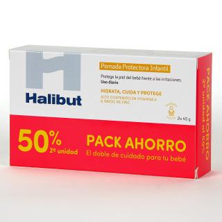 Halibut Pomada Protectora Infantil 45 g Pack Duplo
