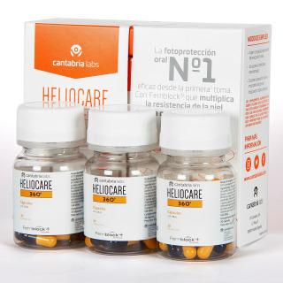 Heliocare 360 30 cápsulas pack triplo