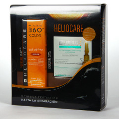 Heliocare 360 Color Gel Oil-Free SPF 50+ Bronze 50 ml + Endocare-C Oil Free 7x1 ml ampollas Pack