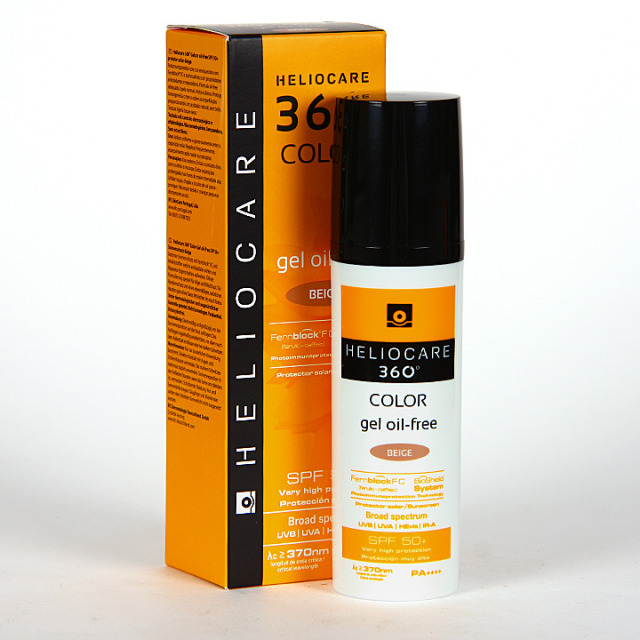 Heliocare 360 Color Gel oil-free SPF 50+ Beige 50 ml