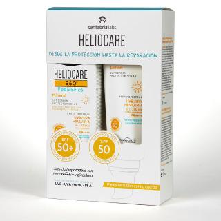 Heliocare 360 Pediatrics Mineral SPF50+ 50 ml + Heliocare 360° Pediatrics Lotion SPF50+ 200 ml