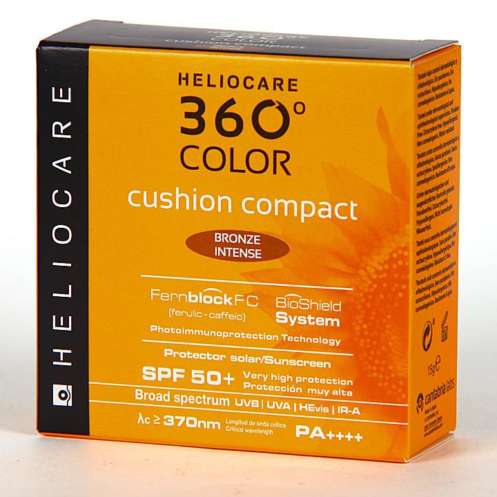 Heliocare 360º Color Cushion Compacto Bronze intense SPF 50+ 15g