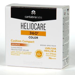 Heliocare 360 Color Cushion Compacto Bronze SPF 50+ 15g