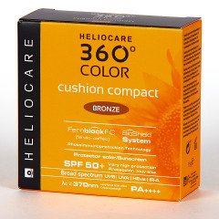 Heliocare 360º Color Cushion Compacto Bronze SPF 50+ 15g