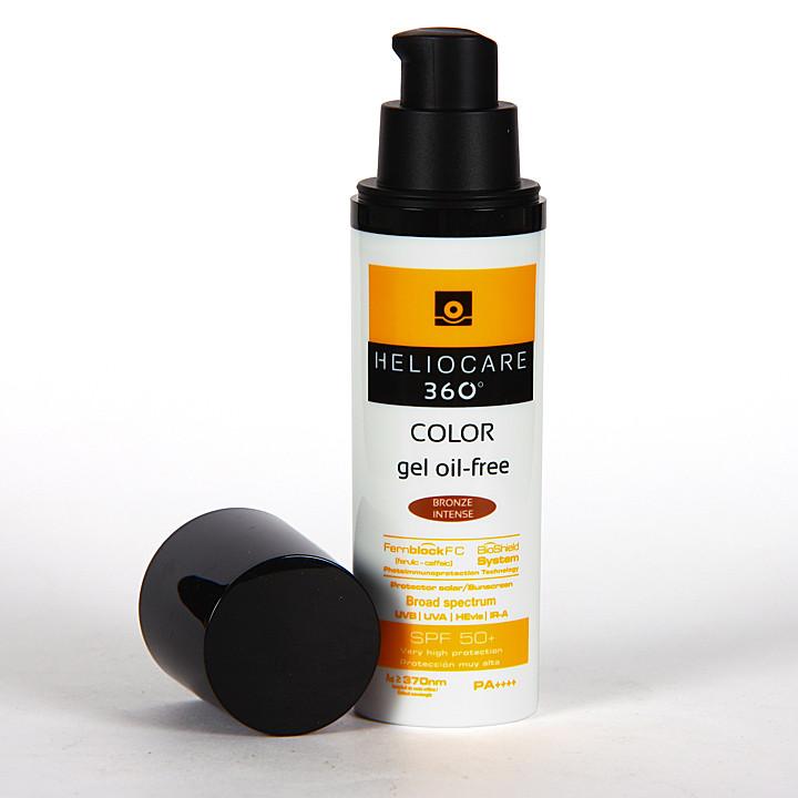 Heliocare 360º Color Gel oil-free SPF 50+ Bronze intense 50 ml