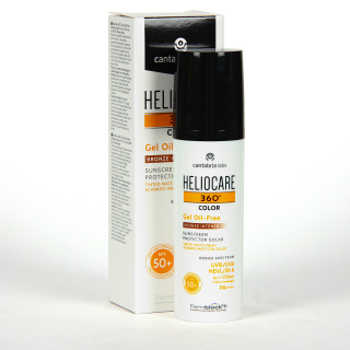 Heliocare 360 Color Gel oil-free SPF 50+ Bronze intense 50 ml