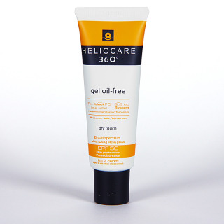 Heliocare 360 Gel oil-free SPF 50 25 ml envase promocional