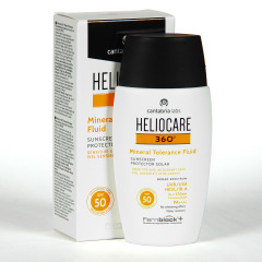 Heliocare 360 Mineral Tolerance Fluid SPF 50 50 ml